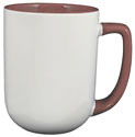 Arlen™ Mug - Red in/White out w/ Red Trim